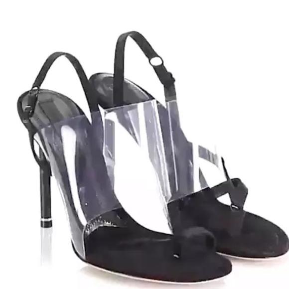 234ec85dbcc Alexander Wang shoes Kaia PVC High Heel Sandals 39